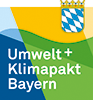 Logo Umwelt + Klimapaekt Bayern